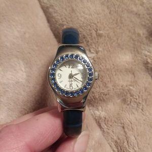 Blue Avon Cuff Watch
